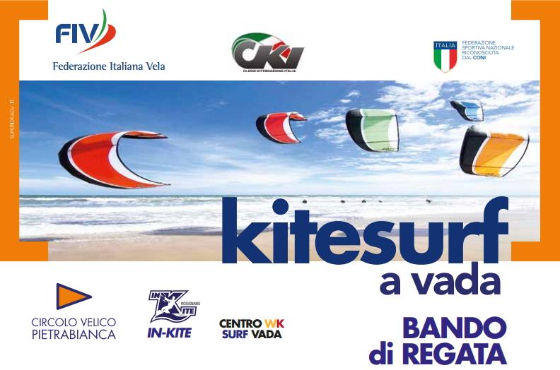 BANDO 1° TAPPA CAMPIONATO ITALIANO HYDROFOIL  VADA (LI)