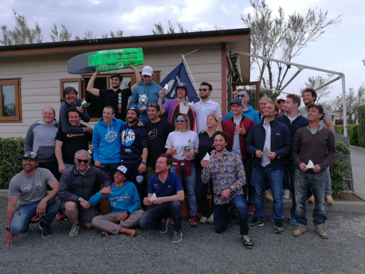 Conclusa la 1° TAPPA CAMPIONATO ITALIANO HYDROFOIL