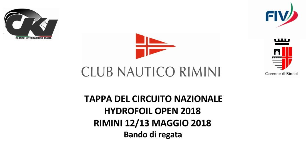 Bando Hydrofoil rimini 2018