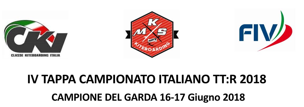 Bando di Regata TTR Campione del Garda