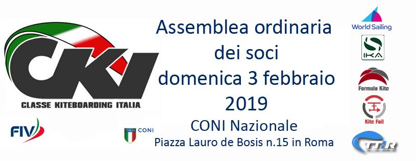 Convocazione assemblea Cki 2019
