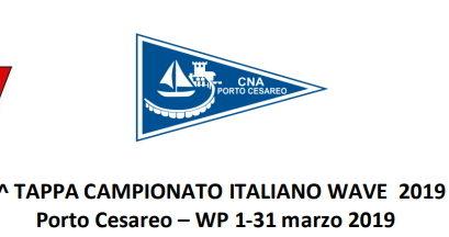 1° TAPPA CAMPIONATO ITALIANO WAVE 2019 Porto Cesareo (LE)