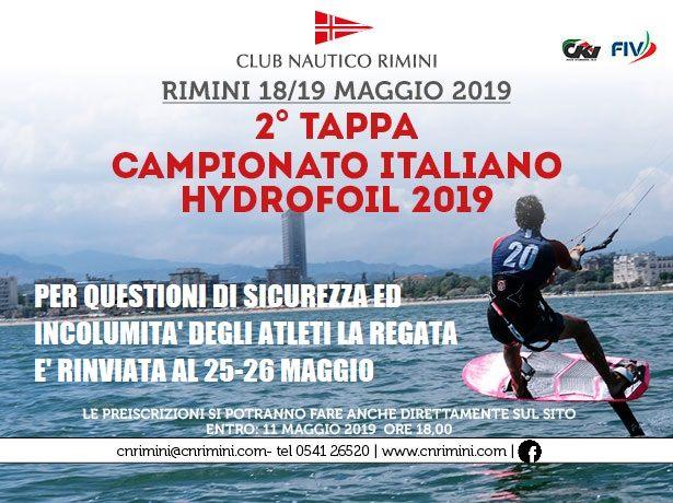 2° TAPPA del CAMPIONATO ITALIANO HYDROFOIL 2019