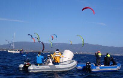 A Vada la seconda Tappa del Campionato Italiano Kite Foil Open