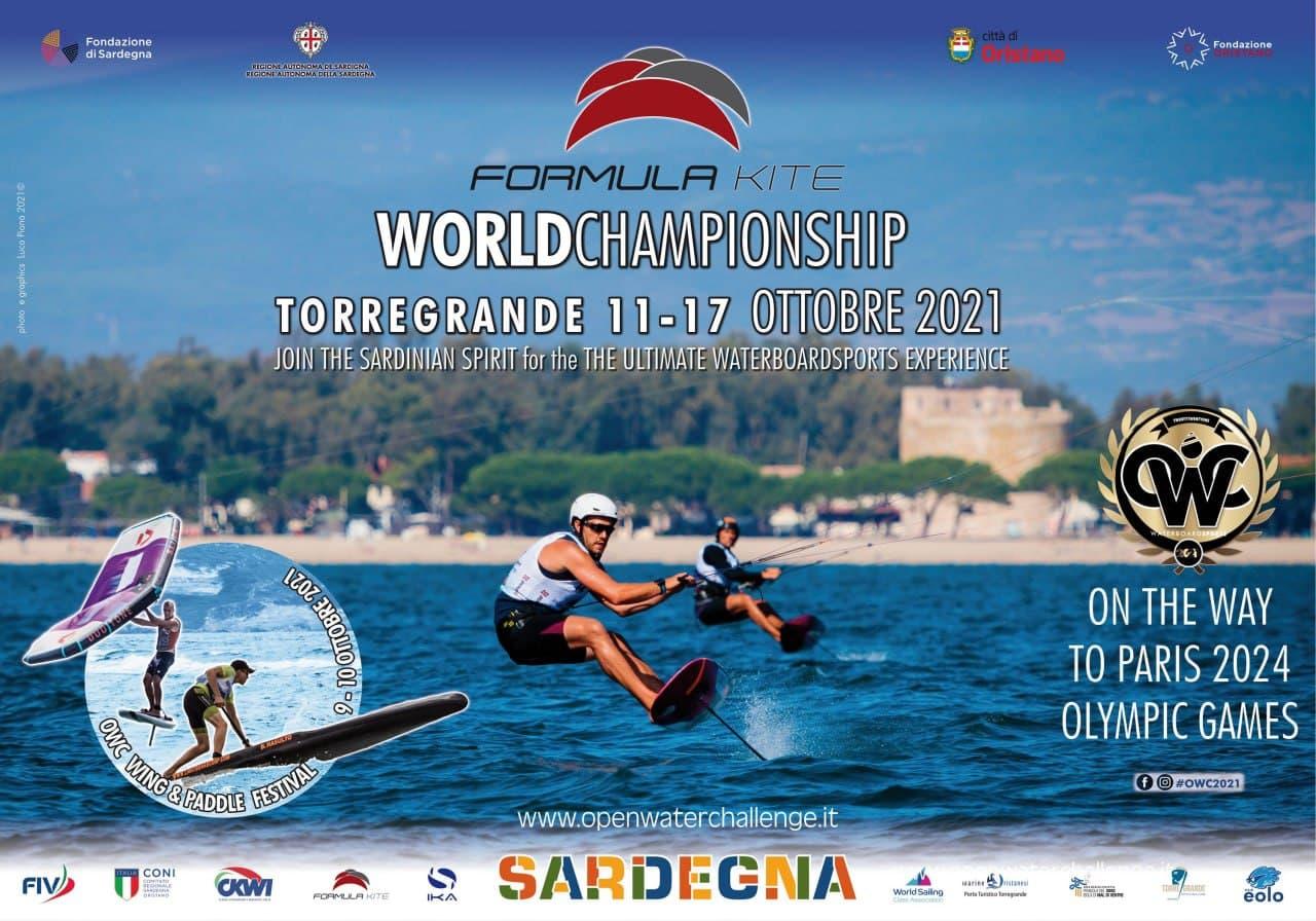 TORRE GRANDE, TRA UN MESE IL FORMULA KITE WORLD CHAMPIONSHIP